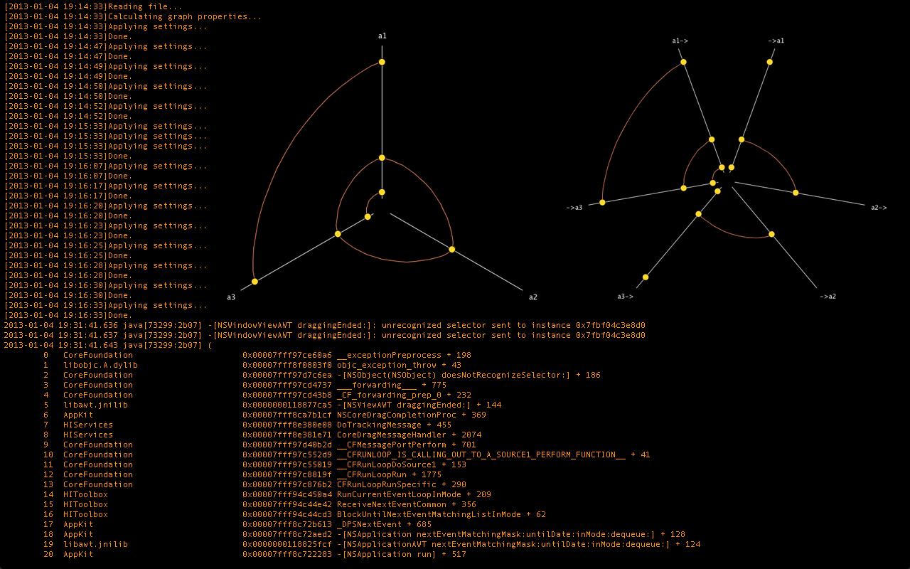 Trio Variant Visualization w/ HivePlot