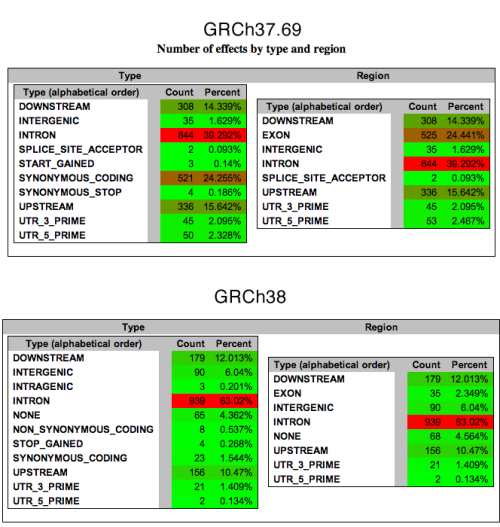 Fig.4: Chr20 Annotation of Regional Structure